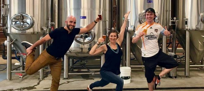 Episode 15 | Yoga + Beer with Downward Drinking Dog | Live from Hapa's Brewing in San Jose, CA