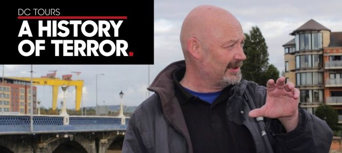 Episode 40 | Paul 'Donzo' Donnelly | Historian at Dead Centre Tours | Live from The Garrick Bar in Belfast, Northern Ireland