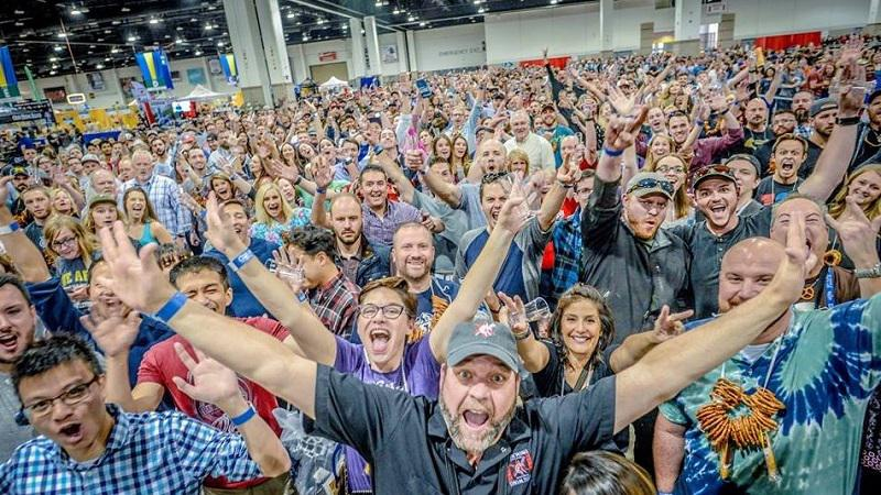 Great American Beer Festival Crowd