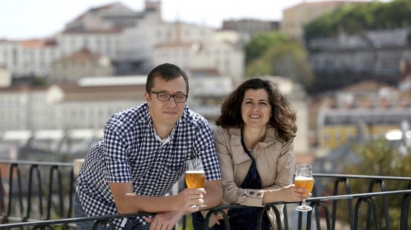 Scott Steffens and Susana Cascais, Co-Founders of Dois Corvos