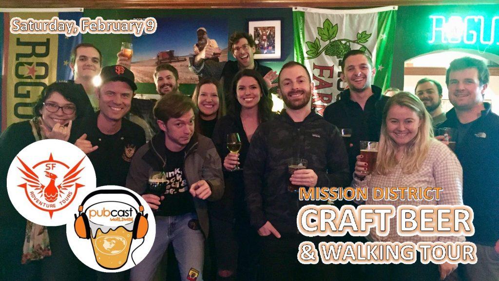Mission District Craft Beer & Walking Tour